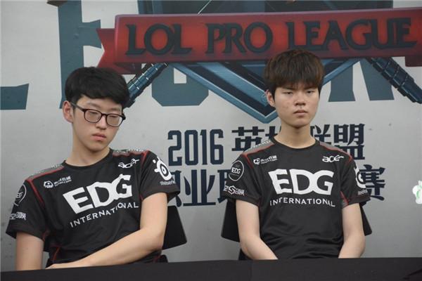 EDG和VG赛后采访:暗凯模式开启