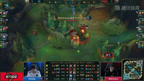 IG对阵RNG赛事前瞻:发生在猪年的鸡狗大战